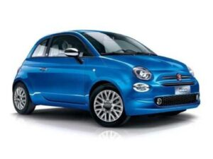 Fiat 500 Hatchback 1.0 Mild Hybrid Lounge - Expat Car Lease for 6 months