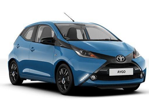 Toyota Aygo Hatchback 1.0 VVT-I xShift - Expat Car Lease for 12 months