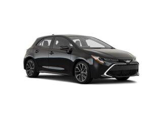 Toyota Corolla Hatchback 1.8 VVT-I Hybrid CVT - Expat Car Lease for 18 months
