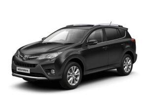 Toyota RAV4 Estate 2.5 VVT-I Hybrid Design CVT 2WD - Expat Car Lease for 5 months