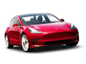 Tesla Model 3 Saloon Standard Range Plus MY2021 - Expat Car Lease for 12 months