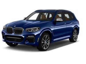 BMW X3 Estate xDrive 20d M Sport - Expat Car Lease for 12 months