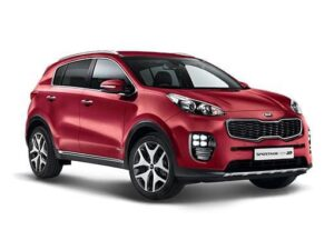Kia Sportage Estate 1.6 CRDI 48V ISG GT-Line - Expat Car Lease for 6 months