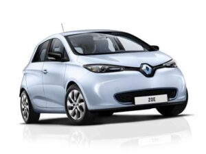 Renault Zoe Hatchback 100KW ICONIC R135 50kWh Rapid Charge - Expat Car Lease for 6 months