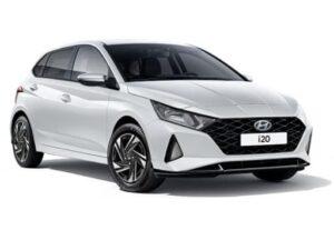 Hyundai i20 Hatchback 1.0T GDI 48v MHD Ultimate DCT - Expat Car Lease for 6 months